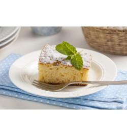 Gâteau nature subtilement vanillé