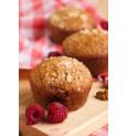 Muffins aux éclats de framboise