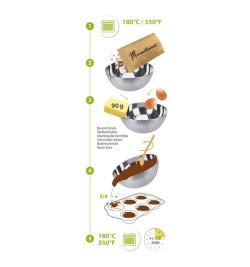 Moelleux chocolat aux écorces d'orange - Alimentaire Mirontaine