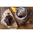 Moelleux chocolat aux écorces d'orange