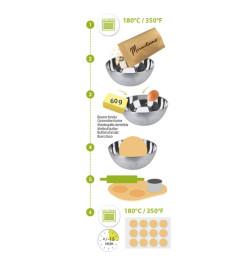 Sablés aux éclats d'orange - Alimentaire Mirontaine