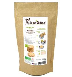 Cookies pépites de chocolat et noisettes - Alimentaire Mirontaine