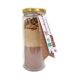 Bocal brownies aux noix