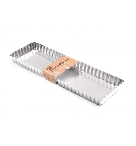 Moule à tarte rectangle 35 x11 cm