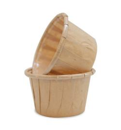 25 caissettes de cuisson en papier - Moule Mirontaine
