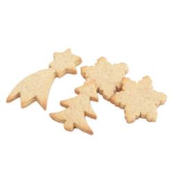 Coffret bois biscuits de Noël - Cadeaux Mirontaine