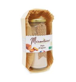 Kit pour pain d'épices - cadeaux Mirontaine