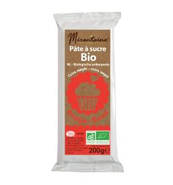 Pâte à sucre BIO rouge 200 g