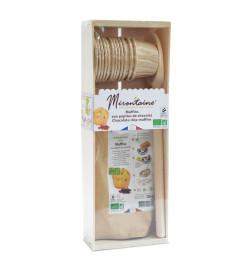 803 Coffret bois mini-muffins pépites de chocolat