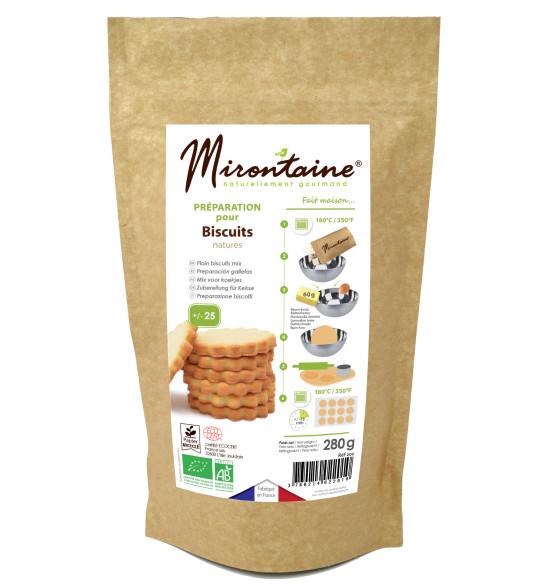 Préparation biscuits natures Bio