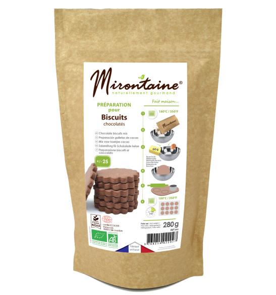 Préparation biscuits chocolatés Bio