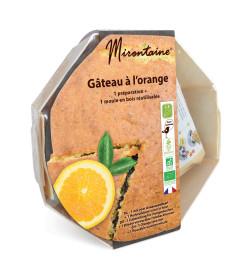 Gâteau orange 1 préparation + 1 moule bois réf.806